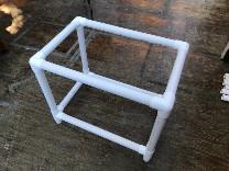 Assembled bed frame