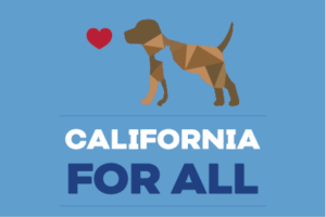 California for All Dogs and Cats logo